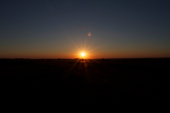 Sunrise Near Dickinson, ND