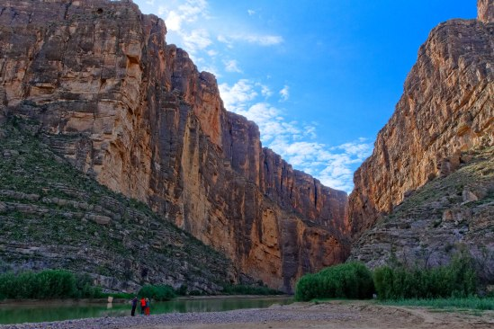 Trailhead to the Santa Elena Canyon