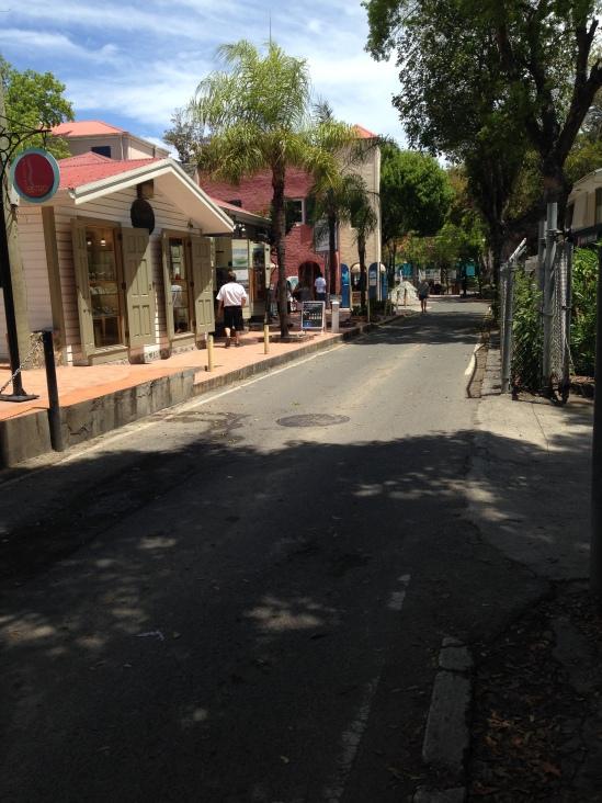 Downtown Cruz Bay
