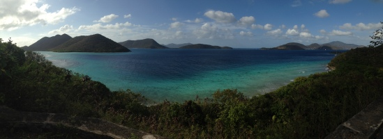 Sir Frances Drake Channel between SJVI and Frenchman's Cay, BVI