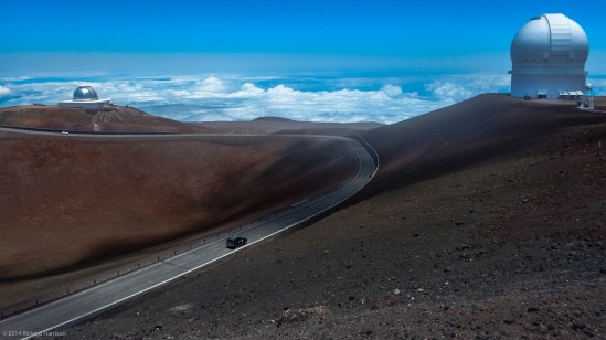 The Mauna Kea Road
